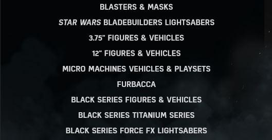 Hasbro Star Wars 2015 Inhalt