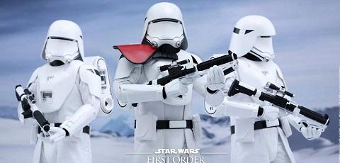 #shortcut: Zwei neue Hot Toys First Order Snowtrooper vorgestellt