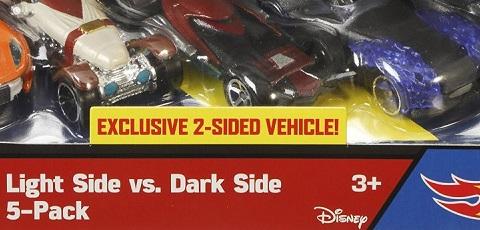 Hot Wheels Character Cars 5-Pack zu Episode VII aufgetaucht