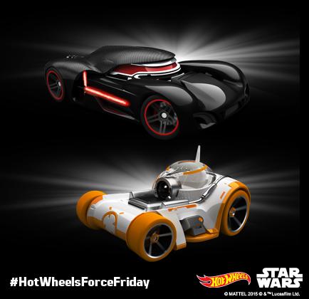 Hot Wheels The Force Awakens