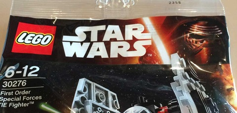 #shortcut: LEGO Star Wars 30276 First Order Special Forces TIE Fighter
