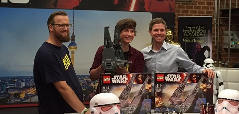 Star Wars Unboxing Event Berlin