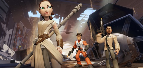 #shortcut: Das sind die Disney Infinity 3.0 Star Wars: The Force Awakens Figuren!