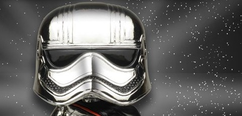 #shortcut: Funko POP! Captain Phasma Chrome-Plated als erstes Smugglers Bounty Exclusive