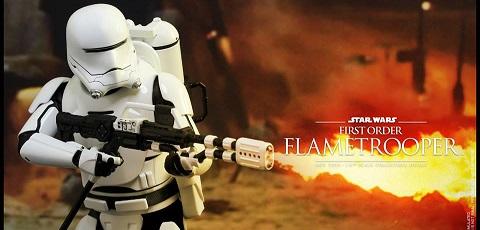 Neuer Hot Toys First Order Flametrooper vorgestellt!