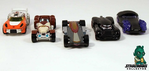 #review: Hot Wheels Star Wars Episode VII Character Car 5-Pack