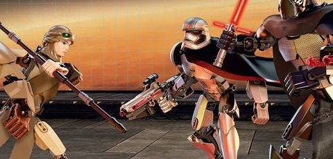 #shortcut: Erstes Bild aller LEGO Star Wars Buildable Figures 2016!