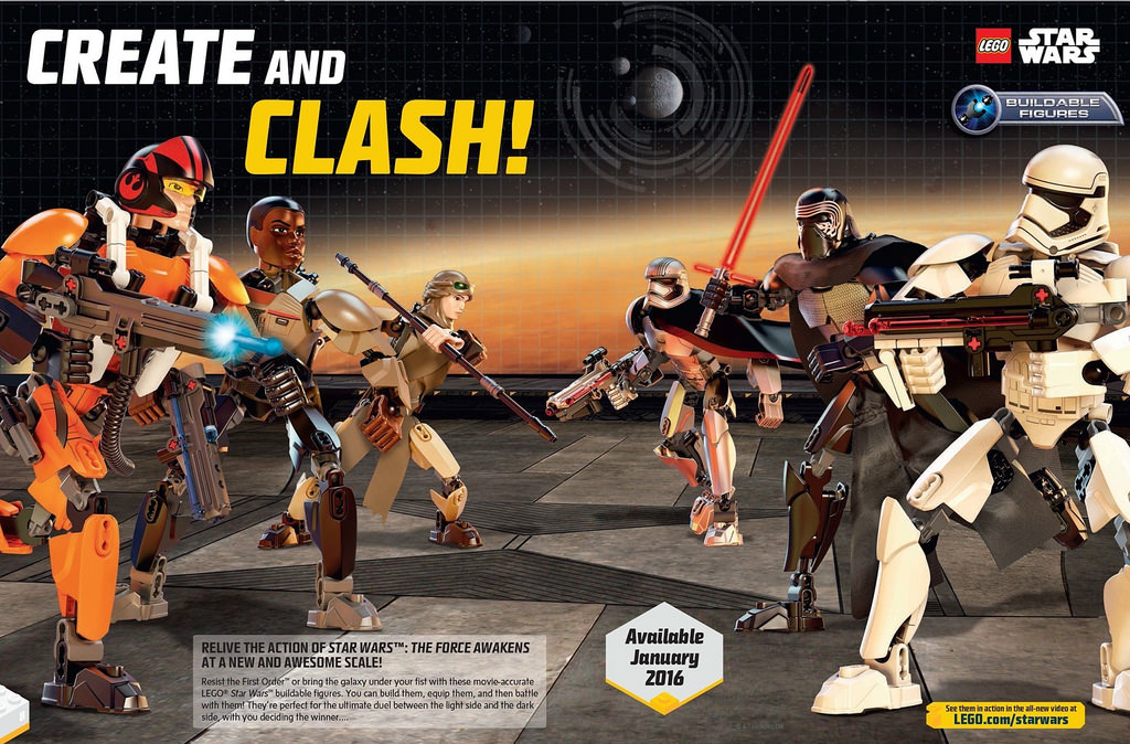 LEGO Star Wars Buildable Figures 2016