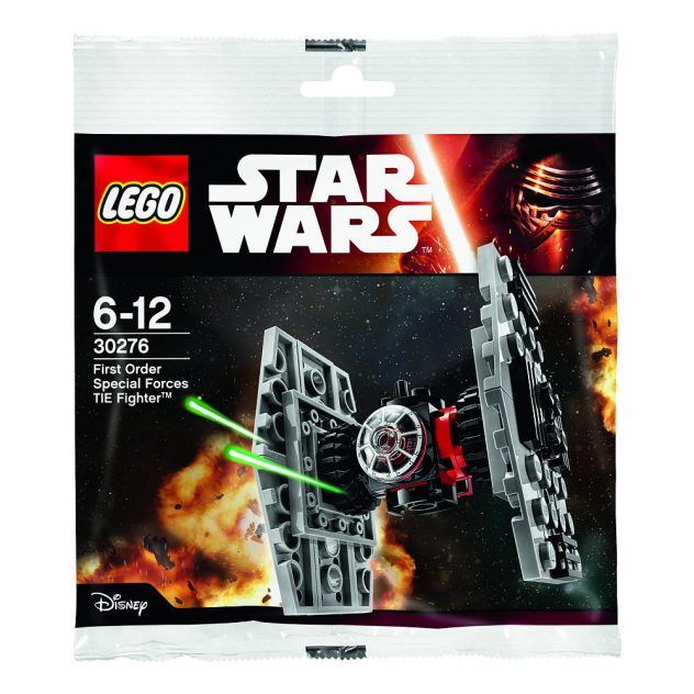 LEGO Star Wars First Order Special Forces TIE Fighter Polybag