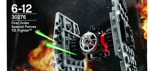 #shortcut: LEGO Star Wars First Order Special Forces TIE Fighter Polybag bald verfügbar!