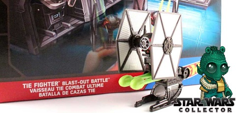 #review: Hot Wheels Star Wars TIE Fighter Blast-Out Battle Playset