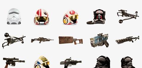 #shortcut: 50 Battle Props aus Star Wars: The Force Awakens