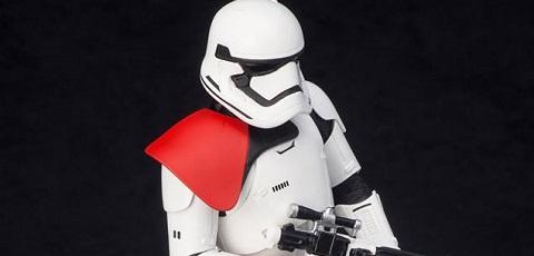 #shortcut: Kotobukiya First Order Stormtrooper ArtFX+ vorgestellt!