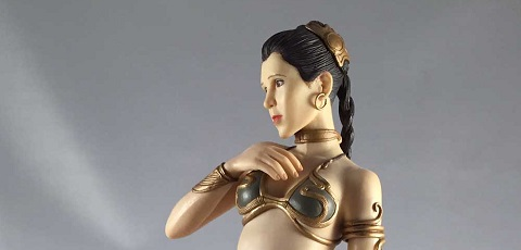 #review: Kotobukiya ArtFX Slave Leia