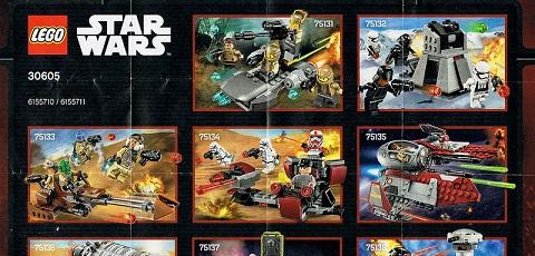#shortcut: Neue Bilder der LEGO Star Wars 2016 Winter Sets
