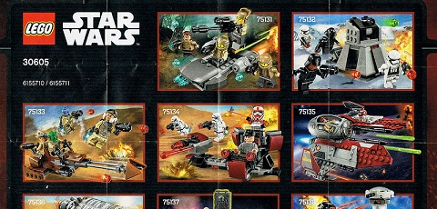 #shortcut: Neue Bilder der LEGO Star Wars 2016 Winter Sets