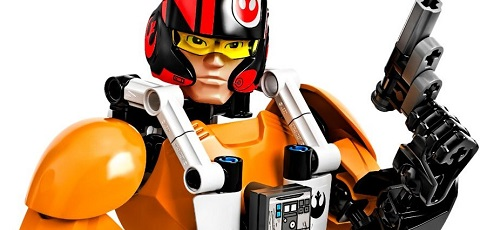 Detailbilder der neuen LEGO Star Wars Buildable Figures zu The Force Awakens!