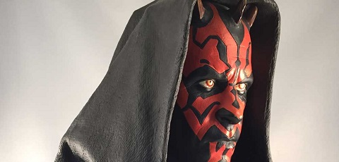 #review: Sideshow Darth Maul Legendary Scale Bust