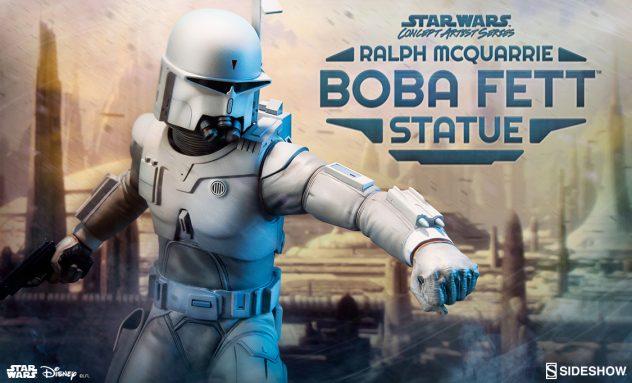 Sideshow Ralph McQuarrie Boba Fett Statue