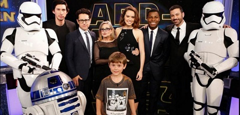 #shortcut: Viele Videos des Star Wars Cast bei Jimmy Kimmel!