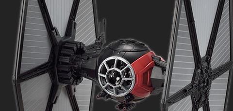 #shortcut: Zwei neue Bandai Star Wars TIE Fighter Model Kits veröffentlicht!