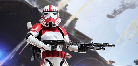 PlayStation 4 x Hot Toys Battlefront Shock Trooper vorgestellt!
