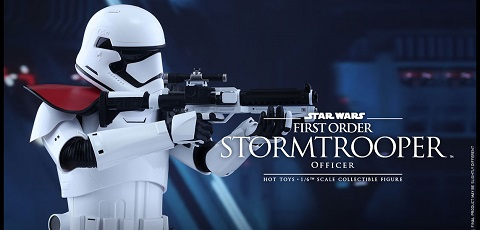 Hot Toys First Order Stormtrooper Officer vorgestellt!