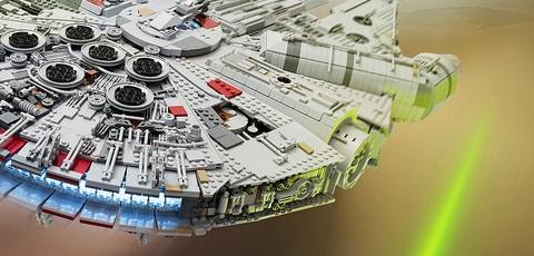Riesiger LEGO Millennium Falcon mit 7.500 Teilen!