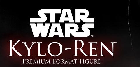 Teaser einer Sideshow Kylo Ren Premium Format Figur!