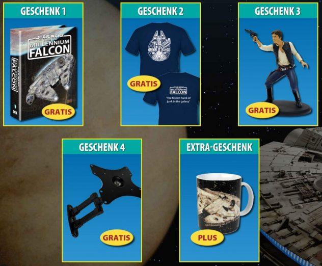 DeAgostini Millennium Falcon Geschenke