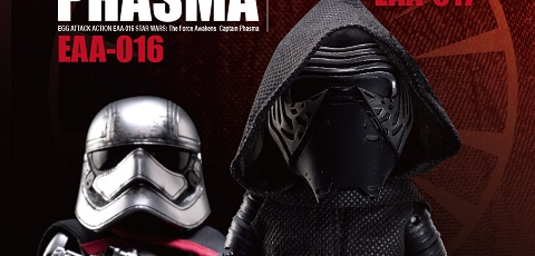 Beast Kingdom zeigt Egg Attack Kylo Ren und Captain Phasma