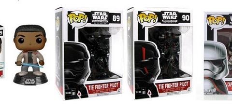 Vier neue & exklusive Funko POP! Star Wars Wackelköpfe!