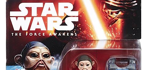 Neue Hasbro The Force Awakens 3,75 inch Figuren