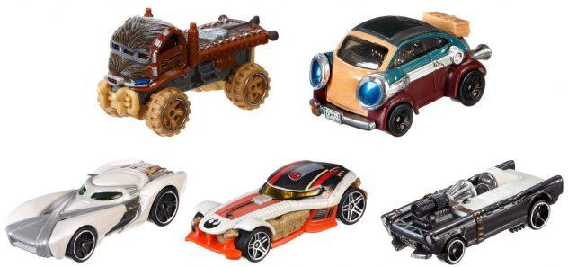 Hot Wheels Star Wars 5-Pack 2016