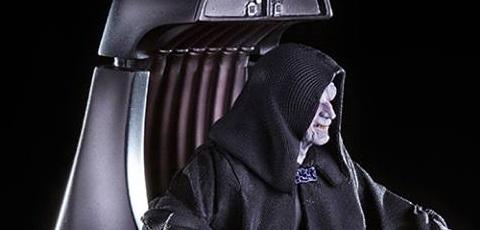 Iron Studios Emperor Palpatine im Maßstab 1:10 vorgestellt!