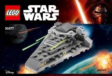 LEGO Star Wars 30277 First Order Star Destroyer