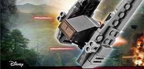 #shortcut: LEGO Star Wars 30279 Kylo Rens Shuttle Polybag aufgetaucht!
