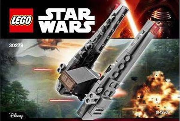 LEGO Star Wars 30279 Kylo Rens Shuttle Polybag
