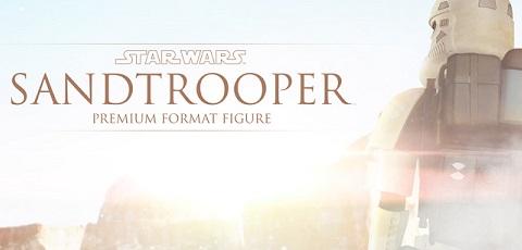 #shortcut: Neuer Blick auf Sideshow Sandtrooper Premium Format Statue