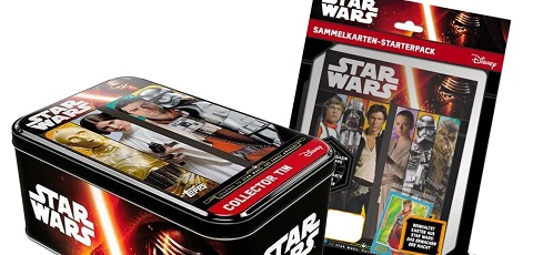 Gewinne eine Topps Star Wars The Force Awakens Collector Tin + Sammelalbum!