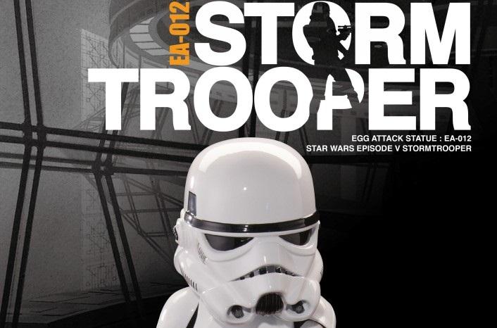Neuer Beast Kingdom Egg Attack Stormtrooper mit Licht und Sound