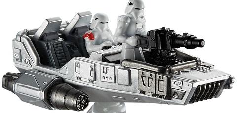 Zwei neue Hot Wheels Star Wars Die-Cast Starships aufgetaucht