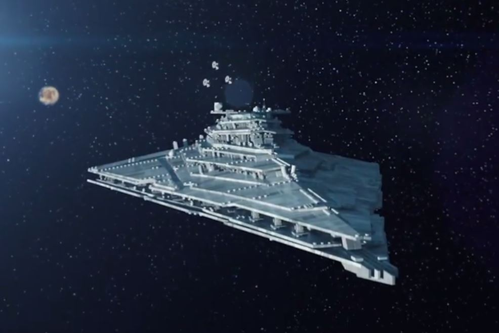 #shortcut: Hinweis auf LEGO Star Wars First Order Star Destroyer?