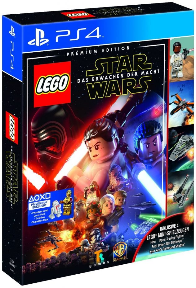 LEGO Star Wars The Force Awakens Game Premium Edition