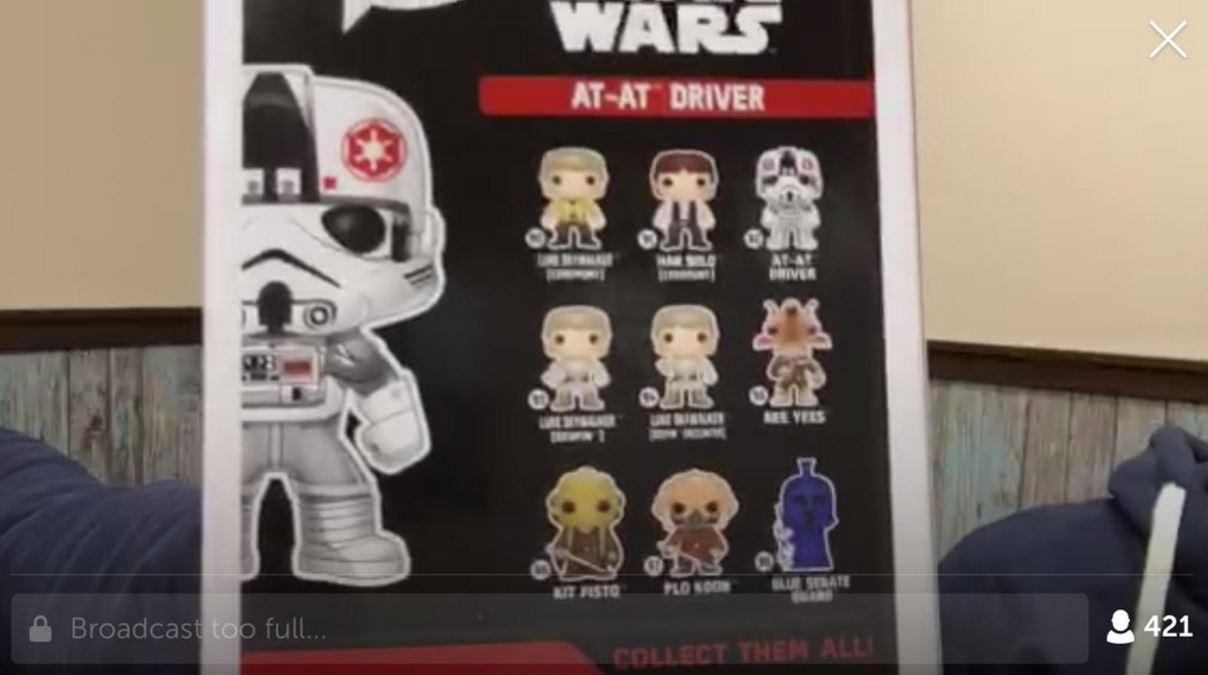 Neue Funko Star Wars POP! Figuren wieder nur Exclusives!