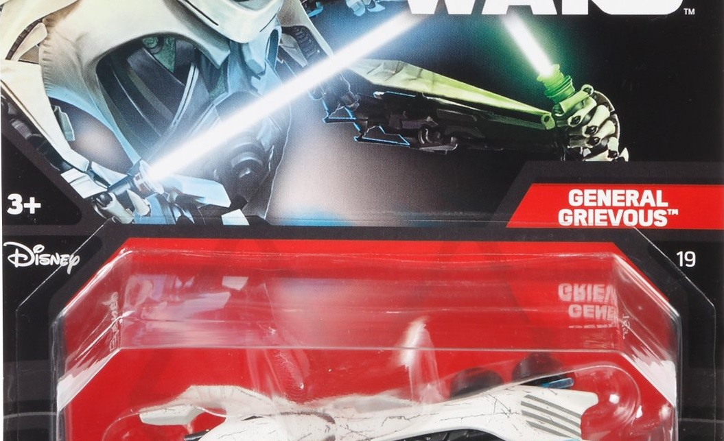 Neues Hot Wheels General Grievous Character Car & Starship 2-Pack mit AT-AT