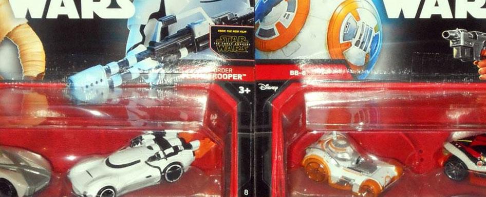 Zwei neue Hot Wheels Star Wars Doppelpacks aufgetaucht!