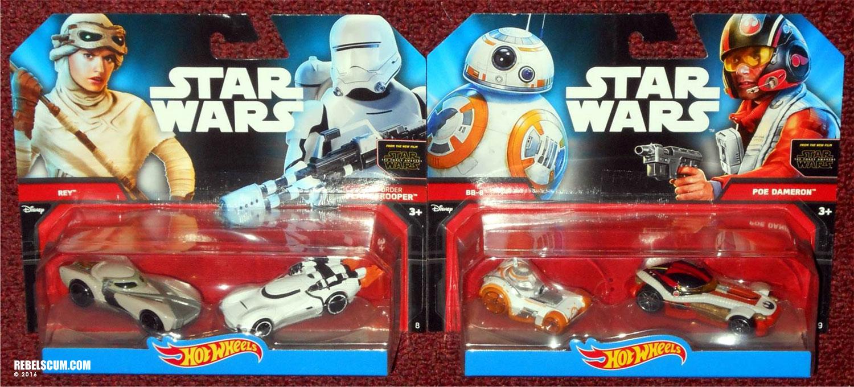 Hot Wheels Star Wars 2 2-Packs