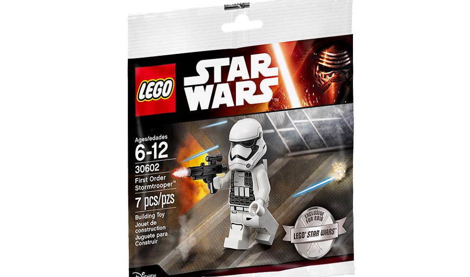 #shortcut: Exklusive LEGO First Order Stormtrooper Figur zum Star Wars Tag