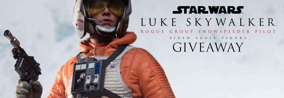 #shortcut: Sideshow Luke Skywalker Snowspeeder Pilot Sixth Scale Figur angekündigt!